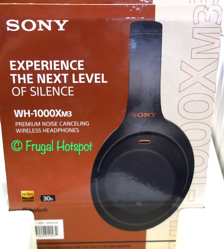Sony Noise Canceling Wireless Headphones (WH-1000Xm3) | Costco