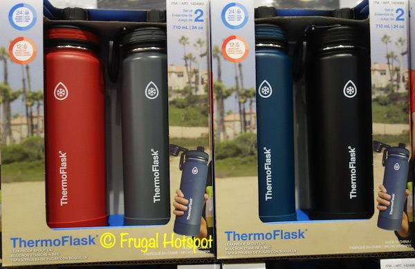 ThermoFlask Stainless Steel Water Bottles | Costco Item 1424563