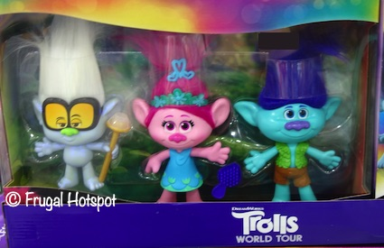 Trolls World Tour Friendship Dolls 3-Pack | Costco