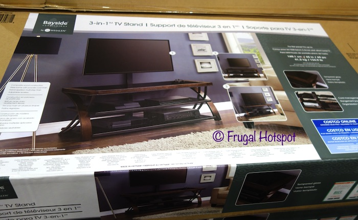 Bayside Furnishings Burkedale 3-in-1 TV Stand | Costco