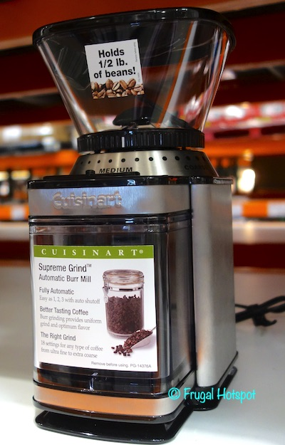 Cuisinart Supreme Grind Automatic Burr Mill | Costco Display
