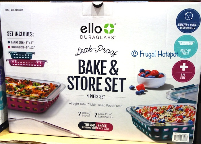 Ello Bake and Store Set 4 Pc set | Costco