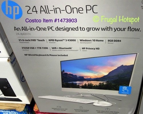 HP All-in-One PC   Costco item 1473903