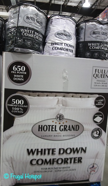 Hotel Grand White Down Comforter Queen | Costco
