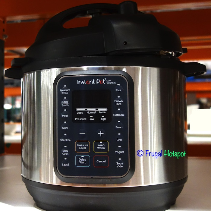 Instant Pot Duo Gourmet Pressure Cooker | Costco Display