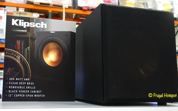 Klipsch R-12SW Reference Subwoofer View | Costco Display