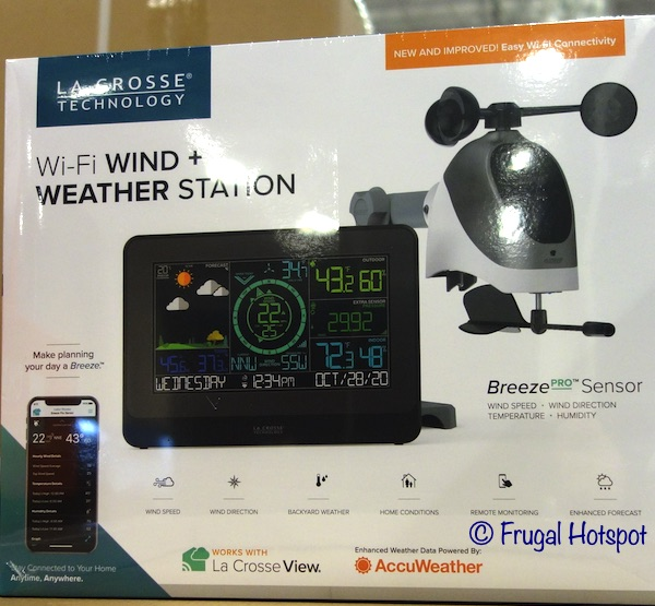 La Crosse Wind Weather Station | Costco