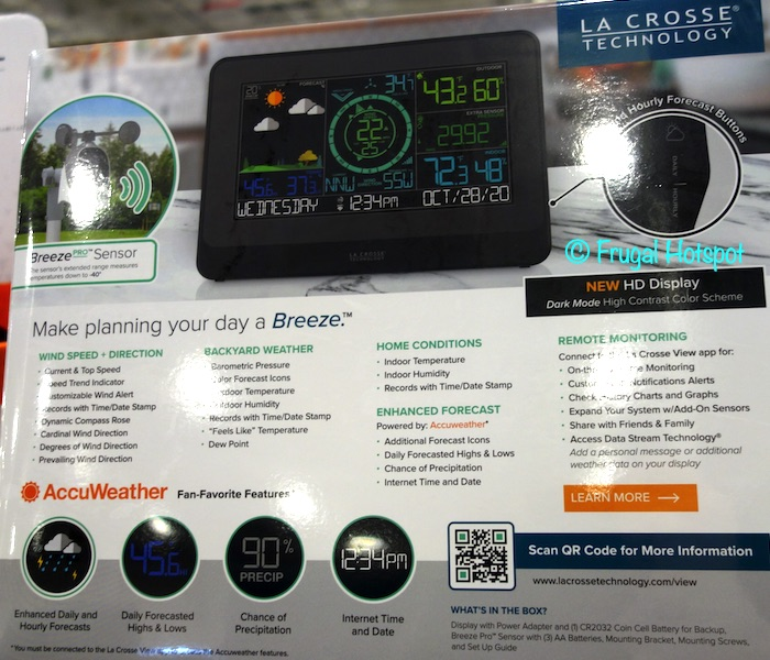 La Crosse Wind Weather Station Description | Costco