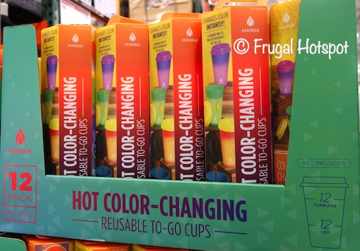 Manna Hot Changing Color Cups Costco