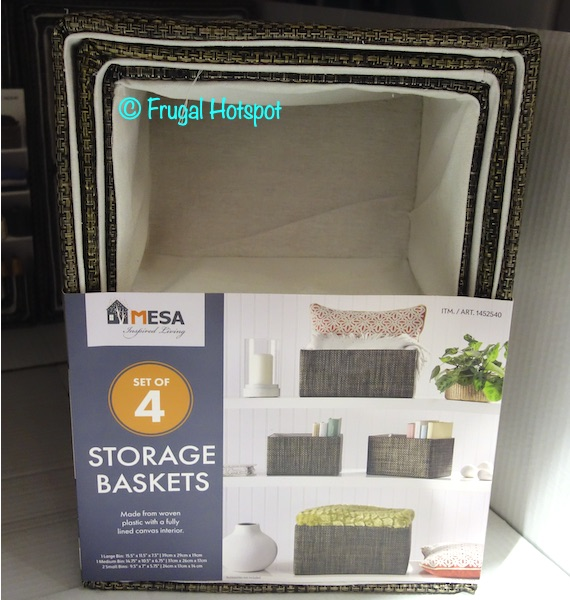 Mesa Storage Basket Costco