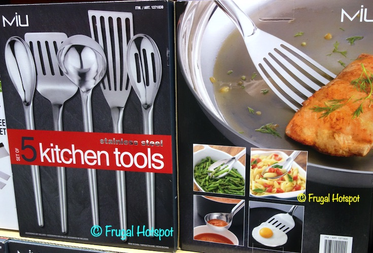 Miu Stainless Steel Kitchen Tools | Costco