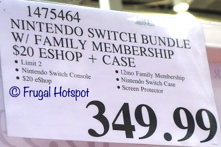 Nintendo Switch Bundle | Costco Price