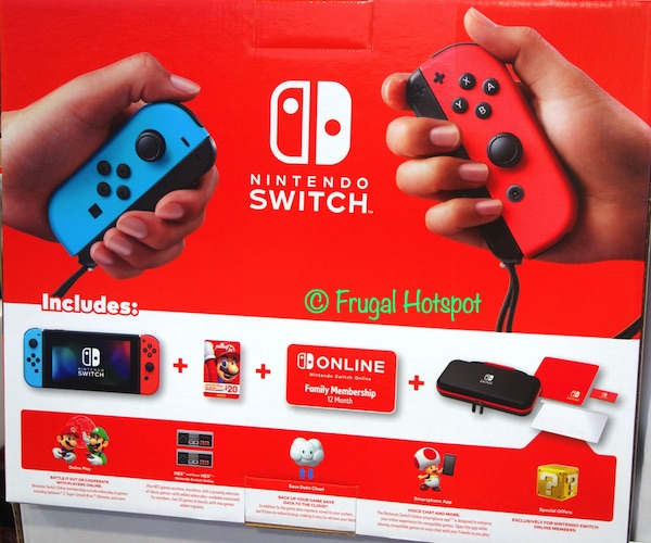 Nintendo Switch Bundle What is Included | Costco