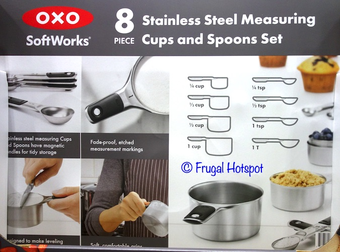 Oxo SoftWorks Measuring Cups and Spoons Description at Costco