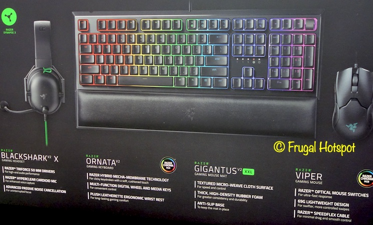 Razer All-Star Gaming Bundle Description | Costco
