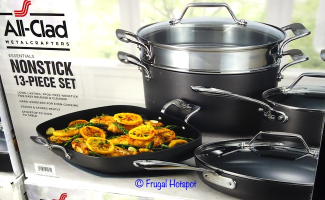 All-Clad Essentials Nonstick Cookware | Costco
