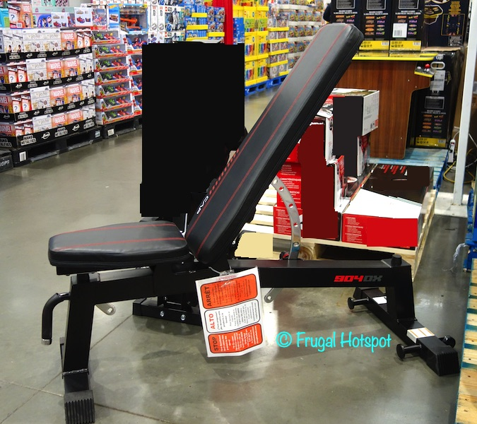 CAP Exercise Deluxe Utility Bench Profile View | Costco Display
