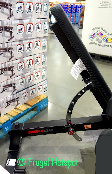 CAP Exercise Deluxe Utility Bench Side | Costco Display