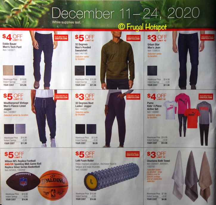 Costco Holiday Event December 2020 P2
