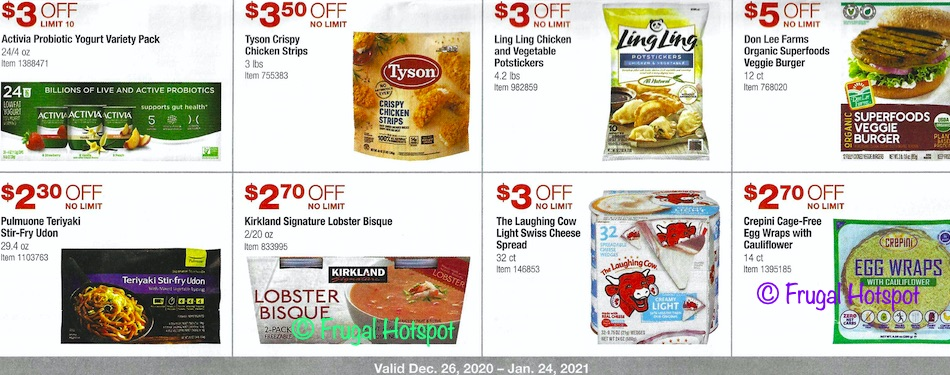 Costco JANUARY 2021 Coupon Book Page 19