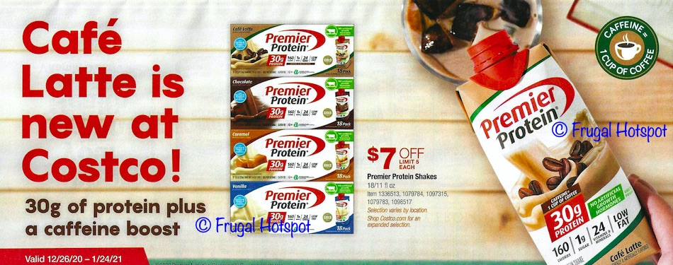 Costco JANUARY 2021 Coupon Book Page 3