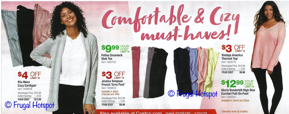 Costco JANUARY 2021 Coupon Book Page 6