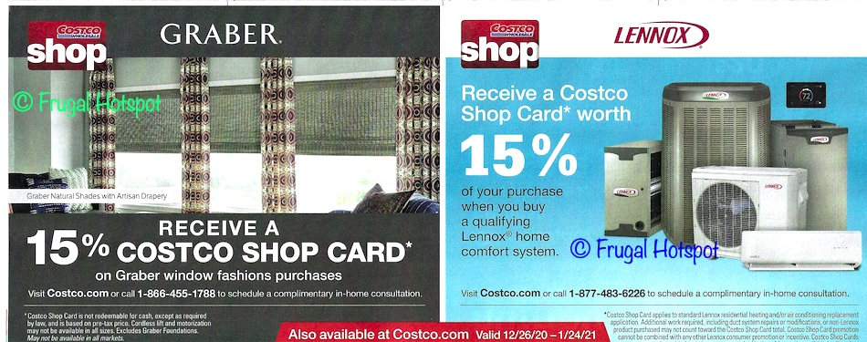 Costco JANUARY 2021 Coupon Book Page 7