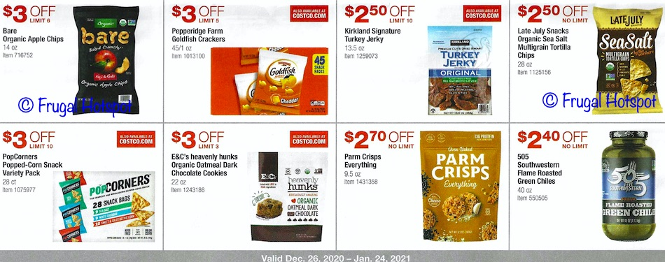 Costco JANUARY 2021 Coupon Book page 15