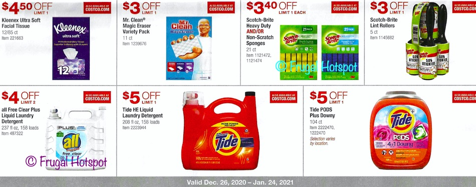 Costco JANUARY 2021 Coupon Book page 17