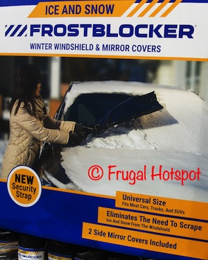 Delk Products FrostBlocker Windshield and Mirror Covers | Costco