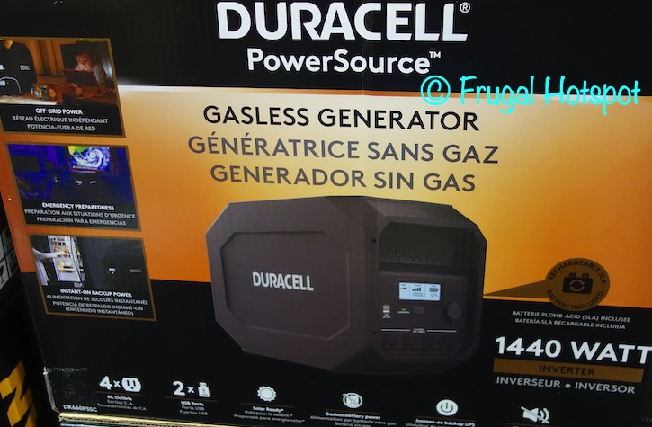 Duracell PowerSource 660 | Costco 1427495