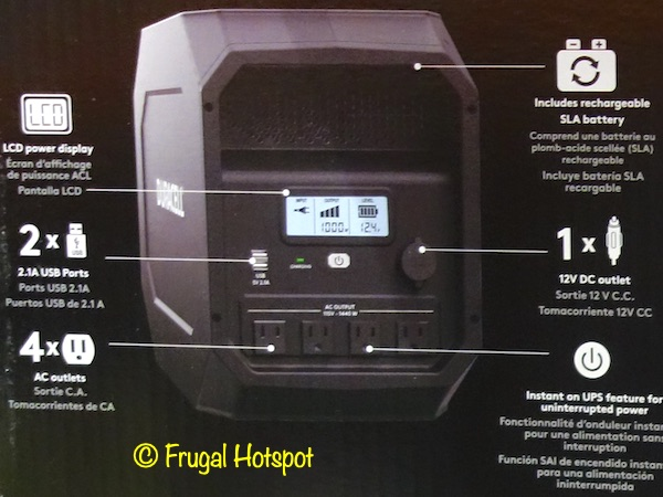 Duracell PowerSource 660 Details | Costco
