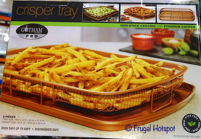 Gotham Steel Pro XL Crisper Tray | Costco 1225406