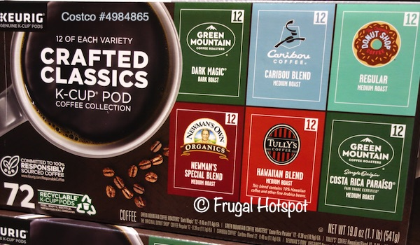 Keurig Crafted Classics K-Cup | Costco