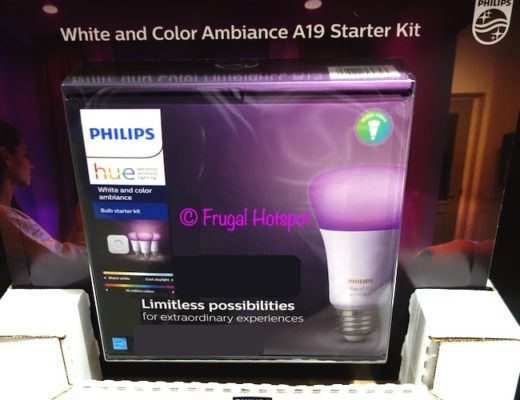 Philips Hue White and Color Ambiance A19 Starter Kit   Costco