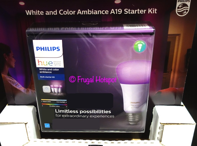 Philips Hue White and Color Ambiance A19 Starter Kit | Costco