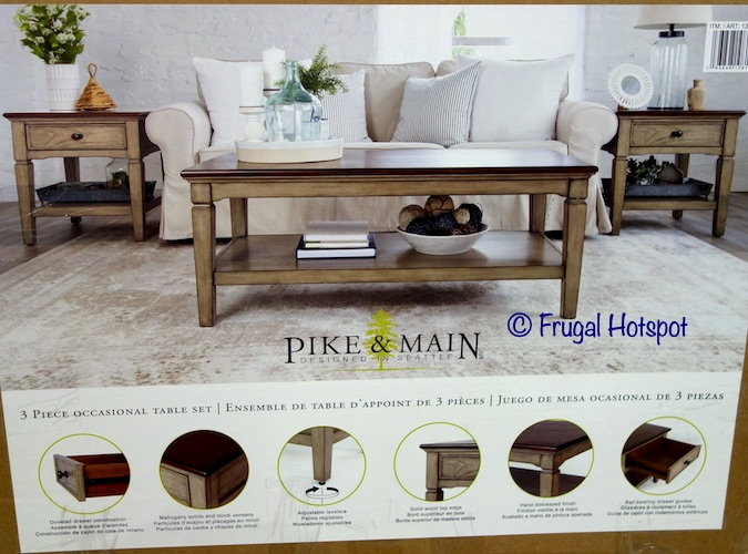 Pike and Main Blaine Occasional Set | Costco
