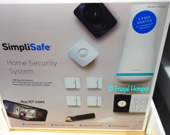 SimpliSafe Home Security System | Costco
