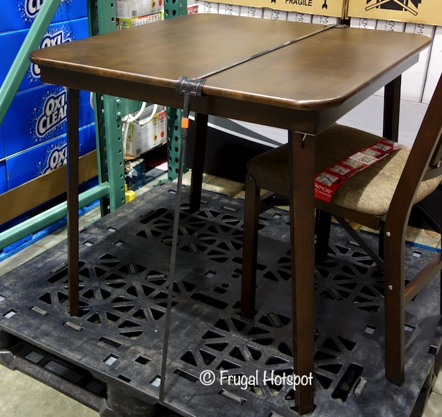 Stakmore 32 Wood Folding Table | Costco Display
