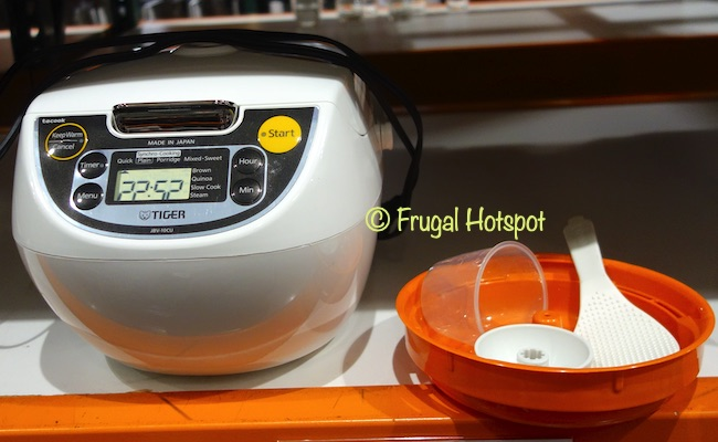 Tiger 5.5 Cup Rice Cooker Accessories | Costco Display