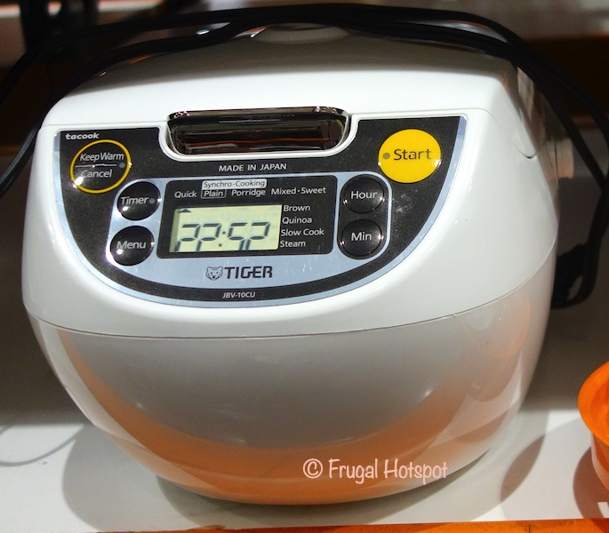 Tiger 5.5 Cup Rice Cooker | Costco Display