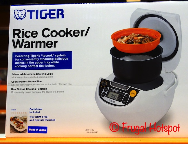 Tiger 5.5 Cup Rice Cooker | Costco