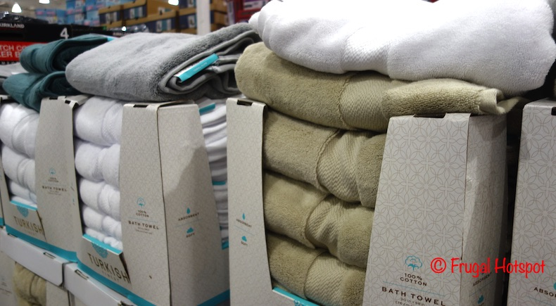 Turkish Finest Bath Towels | Costco Display