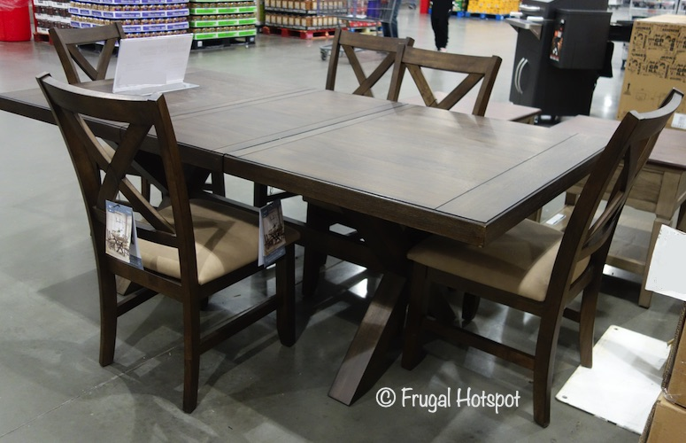 Bayside Furnishings Braeden Dining Set | Costco Display