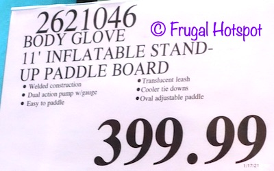 Body Glove 11' Inflatable Stand Up Paddle Board | Costco Price