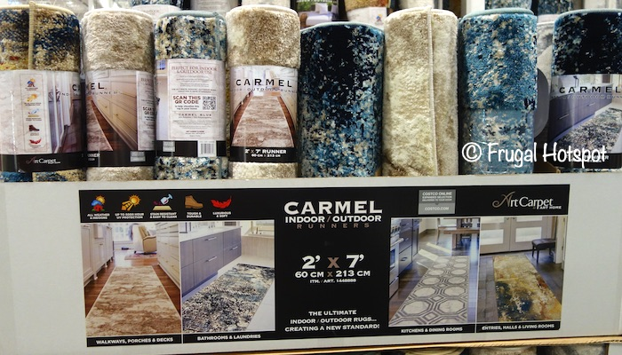 Carmel 2'x7' Runner | Costco