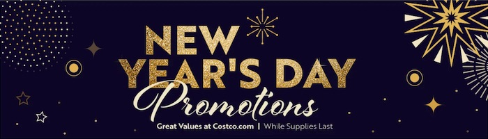 Costco.com New Years Day 2021 Sale