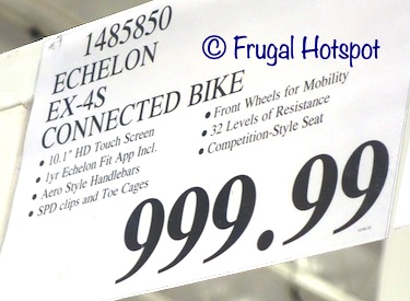 Echelon EX-4S Connect Bike | Costco price