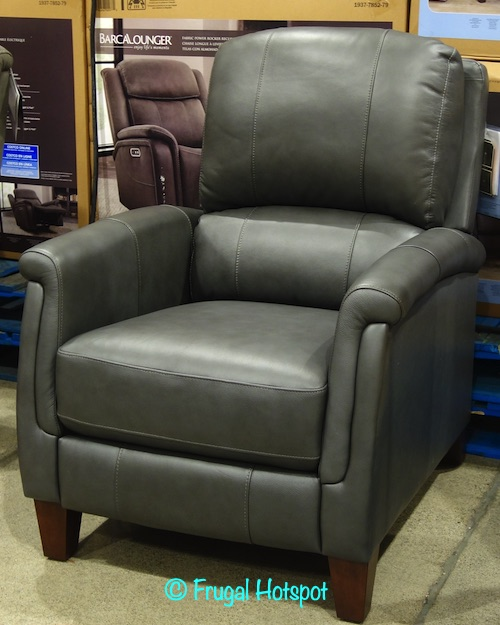 Everlie Leather Pushback Recliner Synergy Home | Costco Display 1404967