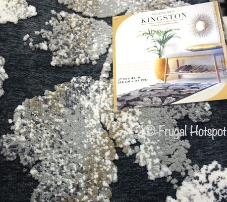 Kingston Accent Rug Dark Gray | Costco